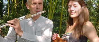 Duo NYGMA en concert(flûtes et harpe) La Baule