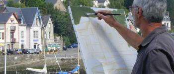 Stage peinture sur sites, alentours de pont-aven Pont-aven