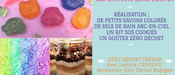 Atelier Enfants Zéro Déchet : Kit Sos, Savons, Sels de Bain Colorés Tregastel
