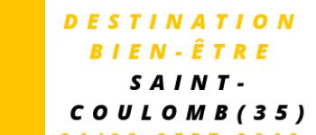 Salon \Destination Bien-être\ Saint-Coulomb 4ème édition Saint-Coulomb