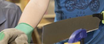 Atelier enfants - creer un jeu en bois Langueux