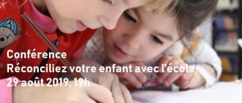 Conférence : Réconciliez votre enfant avec l'école Nantes