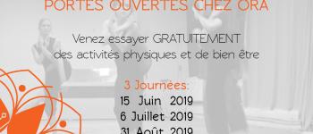 Portes Ouvertes ORA : activités physiques & de bien-être Nantes
