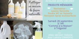 Lessive, Spray Nettoyant Multi-surfaces, Poudre Wc ou Vaisselle trégastel