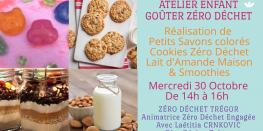 Goûter Zéro Déchet - Petits Savons, Cookies ZD et Lait d'Amande Trégastel