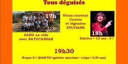 Fête de Samain le nouvel an celte MUZILLAC