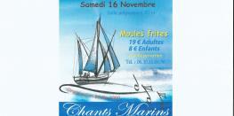 soirée chants marins / moules frites/samedi 16 nov.à Bédée Bédée