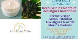 Crème Visage & Savon Exfoliant aux Algues et actifs Marins Trégastel