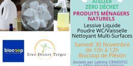 Lessive, Spray Nettoyant Multi-surfaces, Poudre Wc ou Vaisselle Plestin-les-Grèves