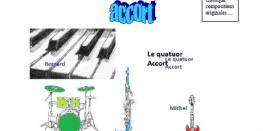 Concert par 'Quatuor-accort' LAMBALLE